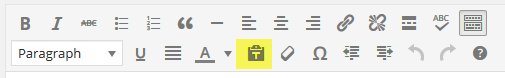 page editor - paste as text button